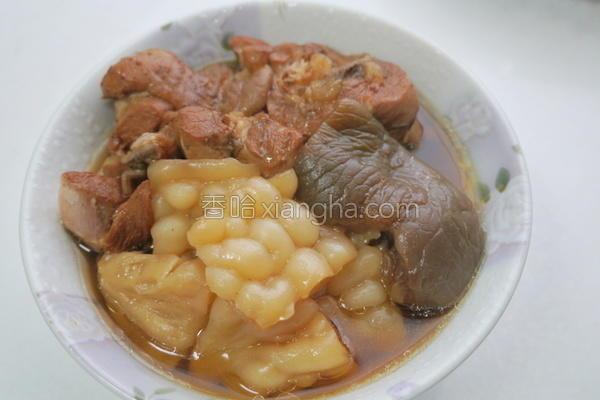 苦瓜炖脆瓜鸡汤