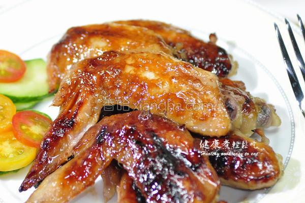 柚香烤鸡翅的做法