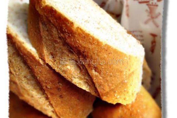 全麦法国面包的做法