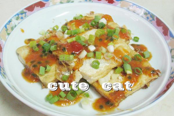 酸甜桔酱豆腐的做法