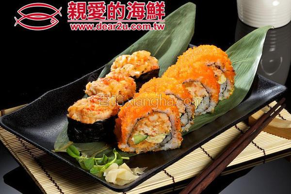 龙虾沙拉寿司的做法