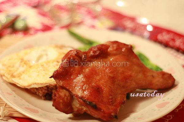 步泰式烤鸡的做法