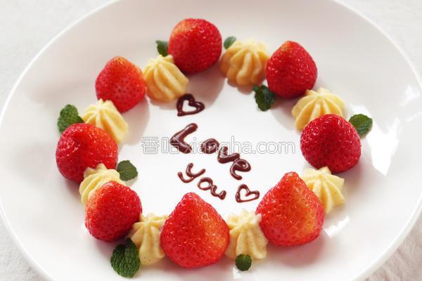 草莓花圈乐扣乐扣的做法