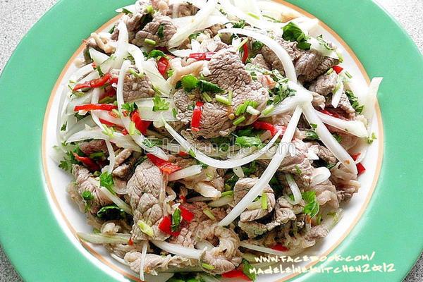 泰式凉拌牛肉的做法