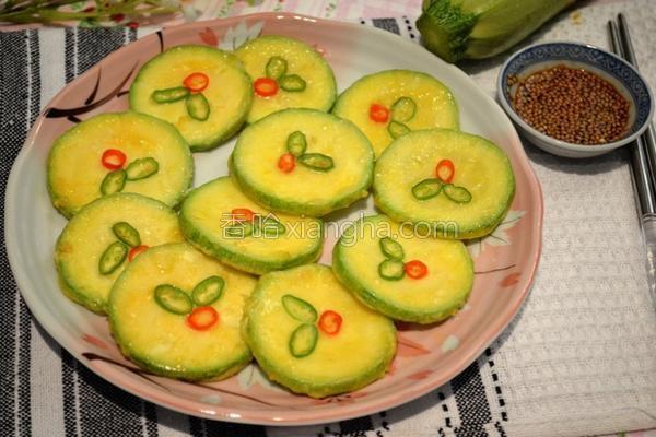 韩式栉瓜煎蛋饼的做法