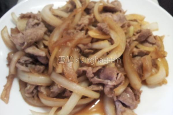 姜汁猪肉的做法