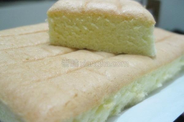 原味海绵蛋糕