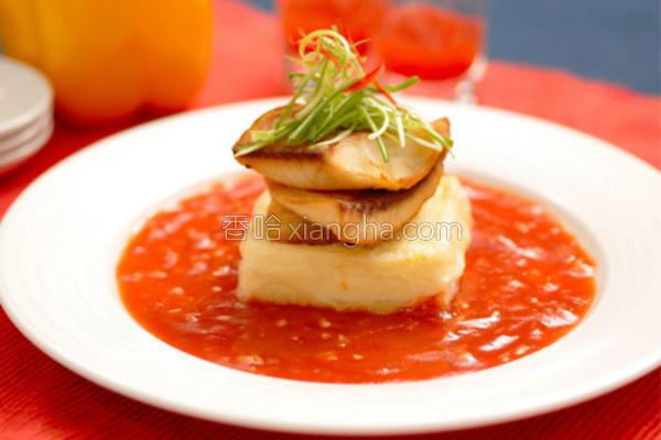 番茄黄金鱼片的做法