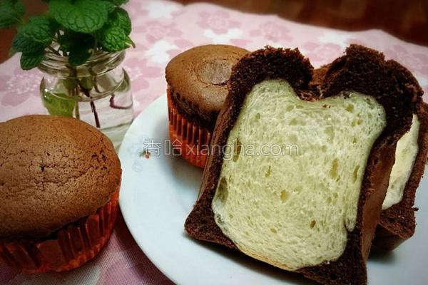 巧克力蛋糕吐司的做法
