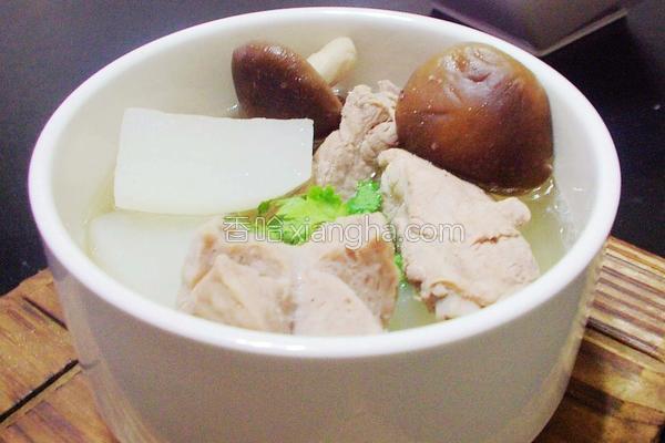 采头排骨汤的做法