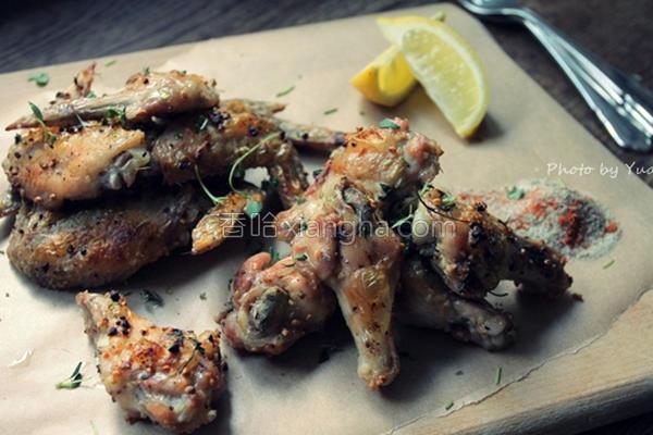 酥烤蒜香鸡翅腿的做法