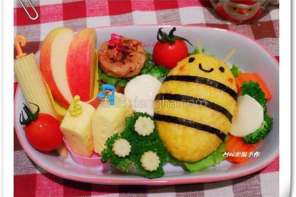小蜜蜂南瓜饭饭的做法
