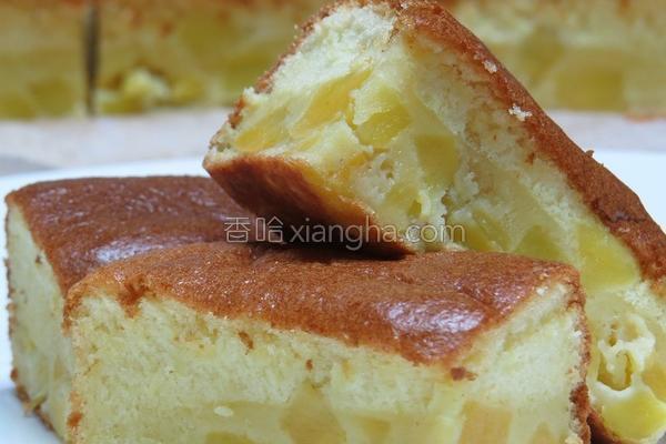 地瓜味噌蛋糕的做法