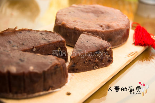 厨房红豆年糕的做法