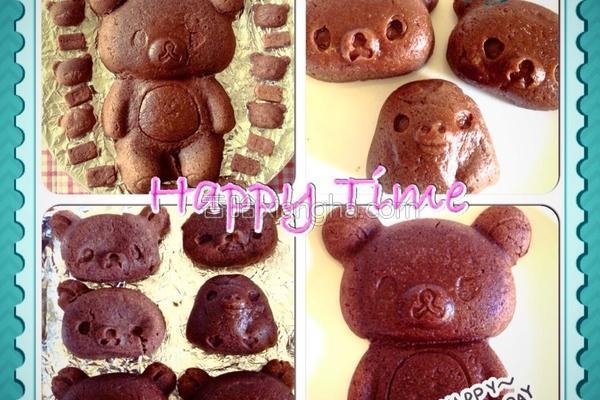 懒懒熊蛋糕的做法