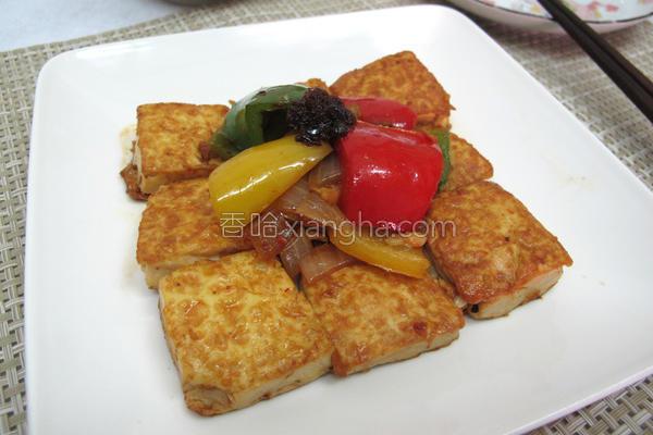 肉燥香煎蛋豆腐的做法