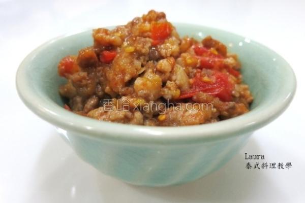 番茄肉末酱的做法