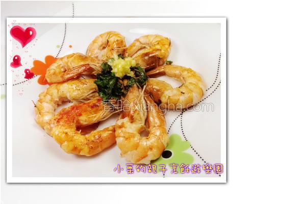 意式干煎虾的做法
