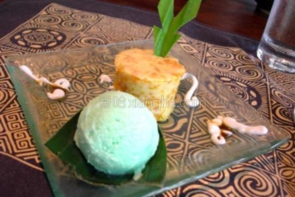 南瓜玉米糕的做法