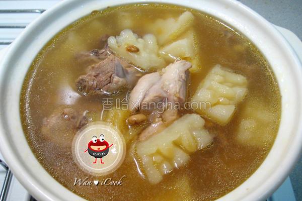 凤梨苦瓜鸡汤的做法