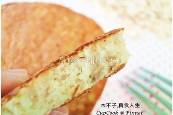 香蕉燕麦松饼