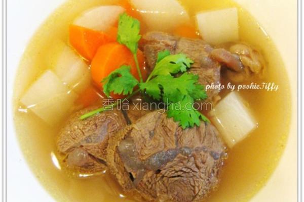 清炖牛肉汤的做法