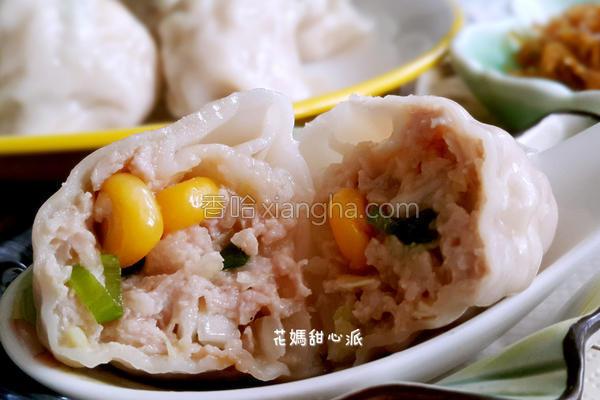 玉米高丽菜水饺的做法