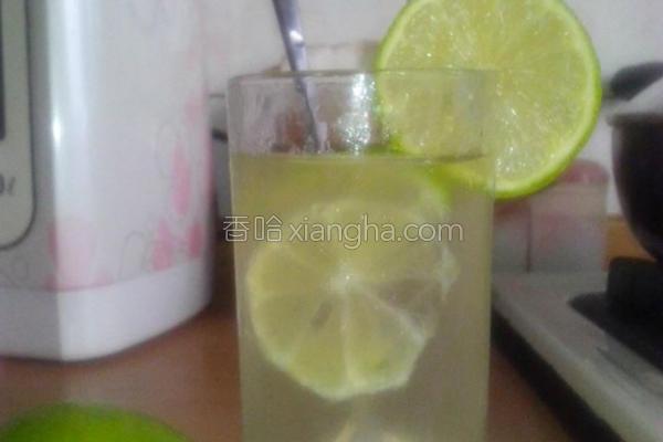 清凉柠檬汁的做法