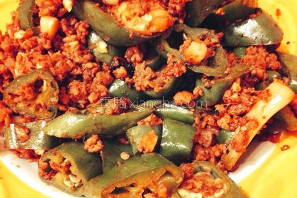 韩式辣椒炒肉的做法