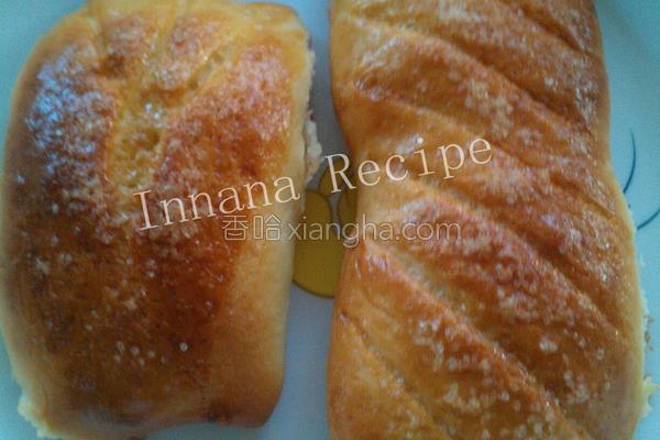 粗糖面包的做法