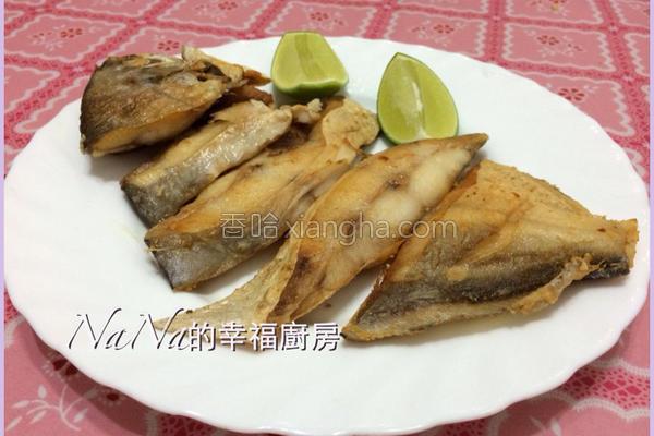 香酥白鲳鱼的做法