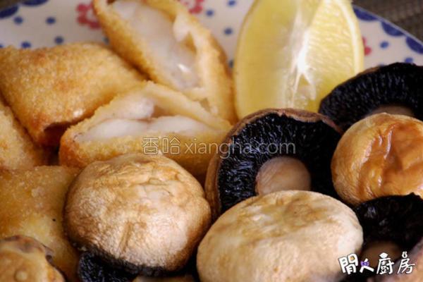焗蘑菇鱼柳的做法