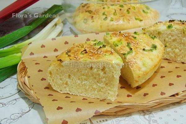 厚葱饼的做法