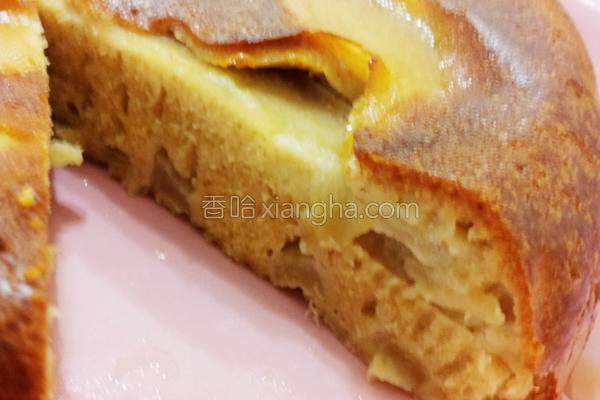 苹果橄榄油蛋糕的做法