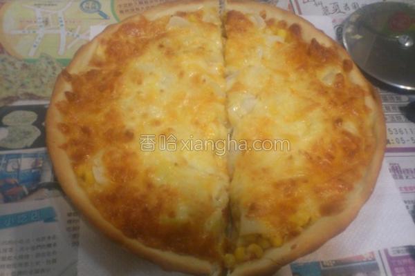 五辛素披萨的做法