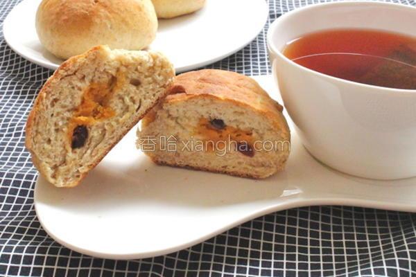 地瓜蔓越莓面包