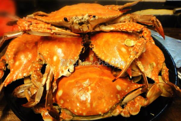 生焗油盐蟹的做法