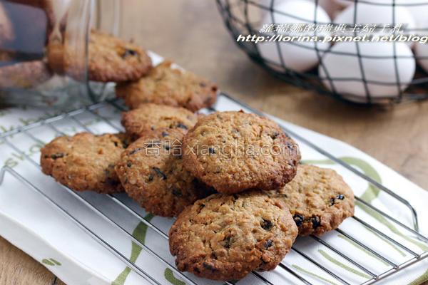 枫糖燕麦葡萄饼干的做法