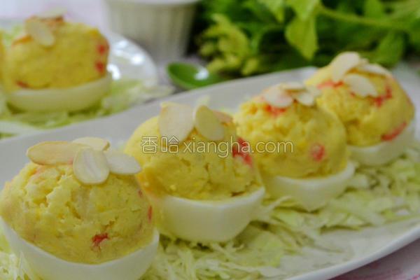 洋芋沙拉蛋盅的做法