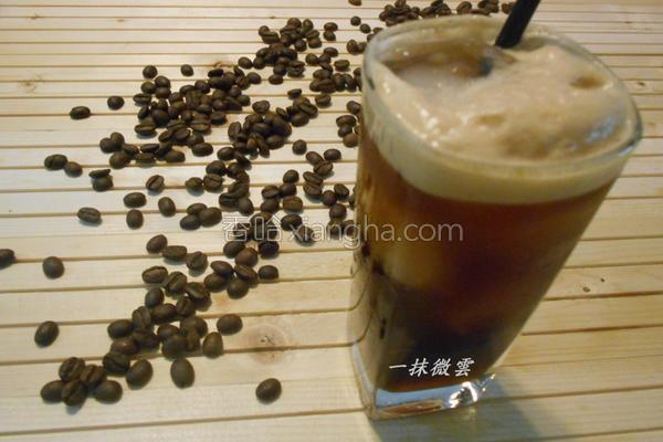 海盐气泡咖啡的做法
