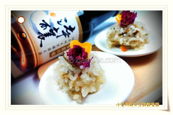 玫瑰糯米虾的做法