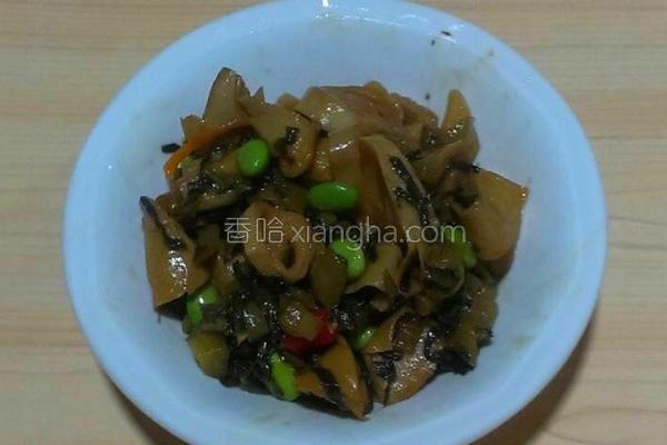素肠炒酸菜的做法