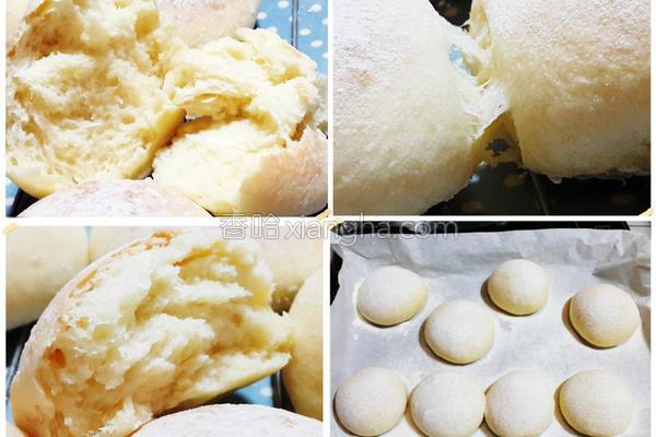 养乐多汤种白面包的做法