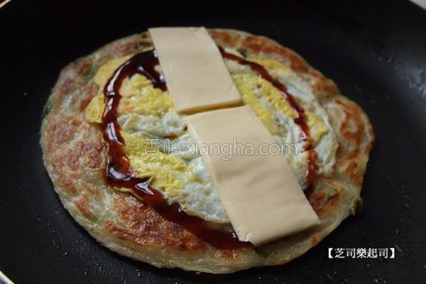 起司葱油饼的做法