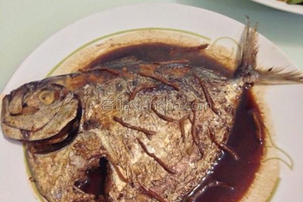 酱烧飞刀鱼的做法