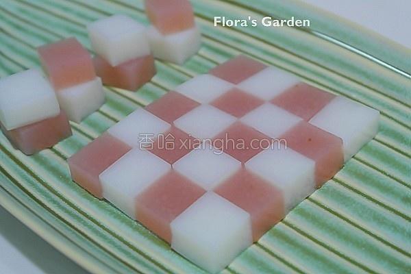 草莓炼乳果冻的做法