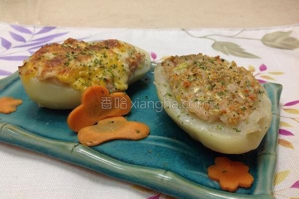 海鲜焗烤马铃薯2的做法