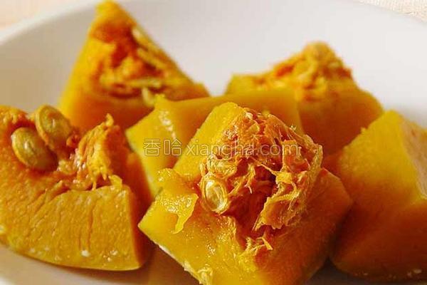 厚生厨房清蒸南瓜的做法