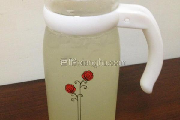降温蜂蜜柠檬苏打的做法