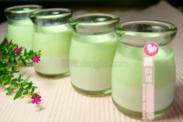 香兰椰奶冻的做法